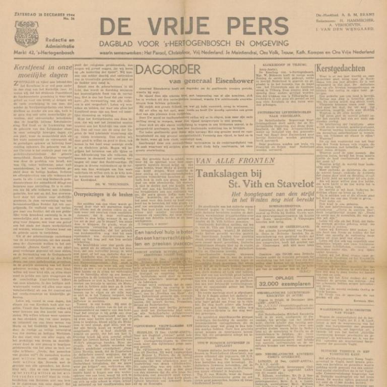 De vrije pers
